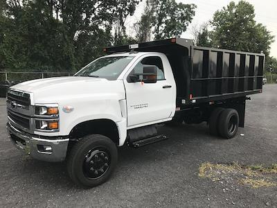 2021 Silverado 6500 Regular Cab DRW 4x4, Swampy Hollow 12' Steel Dumping Landscape #215810 - photo 1
