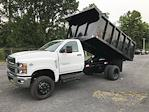 2021 Silverado 6500 Regular Cab DRW 4x4, Swampy Hollow 12' Steel Dumping Landscape #215810 - photo 5