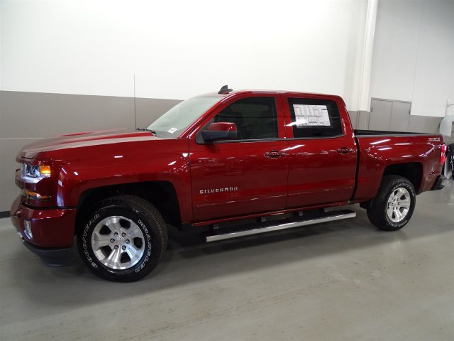 2017 Silverado 1500 Crew Cab 4x4, Pickup #170179 - photo 8