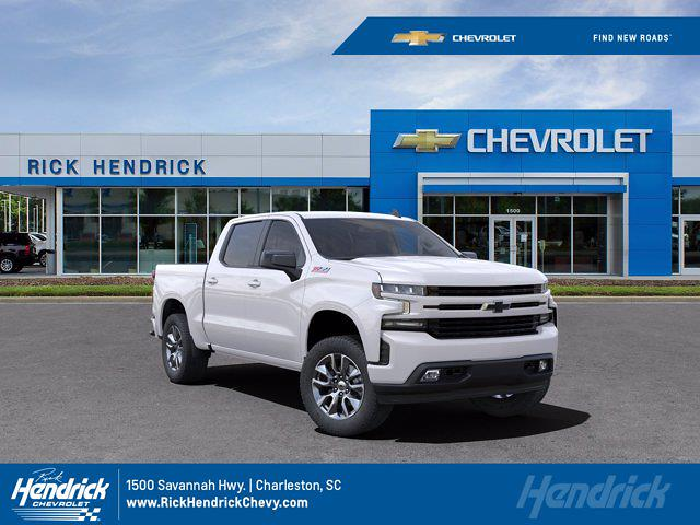 2021 Chevrolet Silverado 1500 Crew Cab 4x4, Pickup #M00387 - photo 1