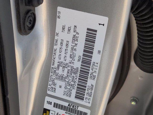 2018 Toyota Tundra Crew Cab 4x4, Pickup #M00527A - photo 43