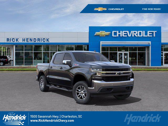 2021 Chevrolet Silverado 1500 Crew Cab 4x4, Pickup #M00669 - photo 1