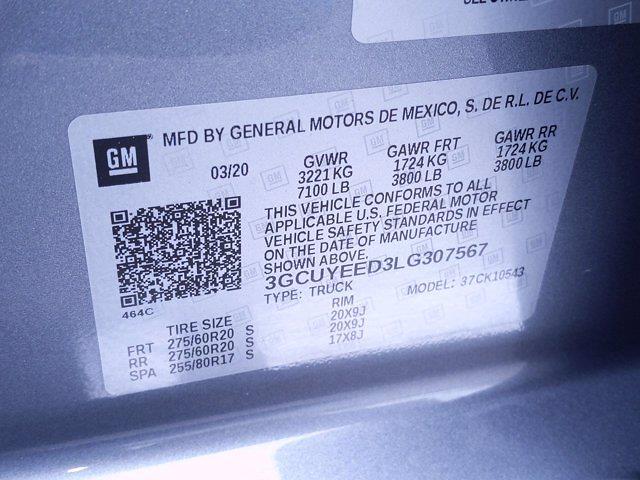 2020 Chevrolet Silverado 1500 Crew Cab 4x4, Pickup #M00820A - photo 46