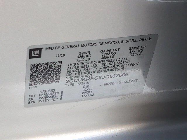 2018 Chevrolet Silverado 1500 Crew Cab 4x4, Pickup #PS32665 - photo 44