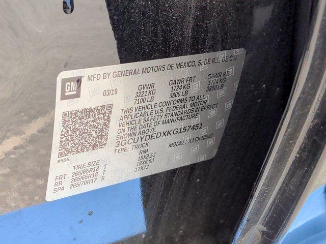 2019 Chevrolet Silverado 1500 Crew Cab 4x4, Pickup #PS57451 - photo 43