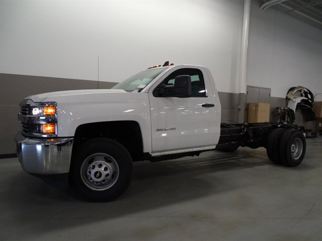 2016 Silverado 3500 Regular Cab, Cab Chassis #T16429 - photo 7