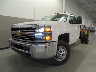 2016 Silverado 3500 Regular Cab, Cab Chassis #T16429 - photo 1
