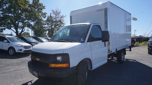 2017 Express 3500,  Dejana Truck & Utility Equipment Cutaway Van #T16655 - photo 7