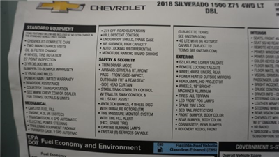 2018 Silverado 1500 Extended Cab 4x4 Pickup #T17201 - photo 40