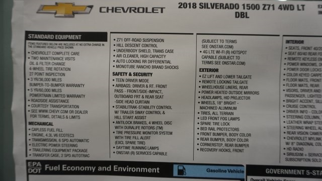2018 Silverado 1500 Double Cab 4x4, Pickup #T17227 - photo 41