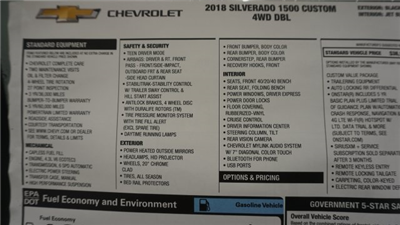 2018 Silverado 1500 Extended Cab 4x4 Pickup #T17242 - photo 39