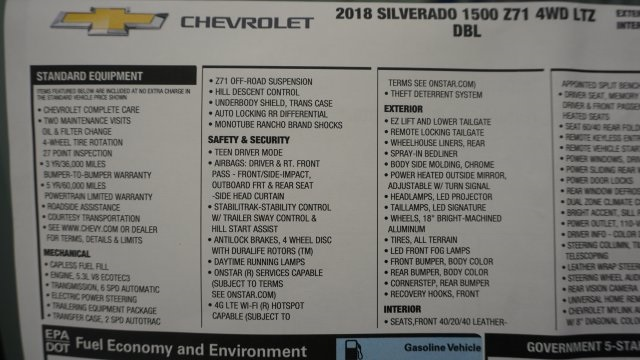 2018 Silverado 1500 Double Cab 4x4, Pickup #T17337 - photo 40