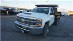 2018 Silverado 3500 Regular Cab DRW 4x4, Dump Body #T17362 - photo 1