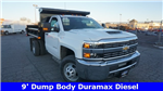 2018 Silverado 3500 Regular Cab DRW 4x4,  Air-Flo Dump Body #T17362 - photo 1