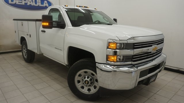 2018 Silverado 3500 Regular Cab 4x4, Service Body #T17498 - photo 3