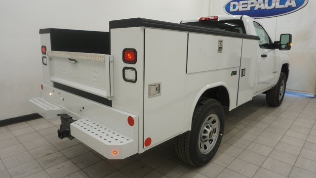 2018 Silverado 3500 Regular Cab 4x4, Service Body #T17498 - photo 7