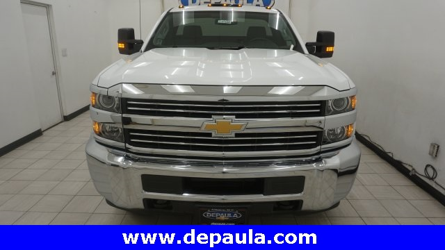 2018 Silverado 3500 Regular Cab 4x4, Service Body #T17498 - photo 4