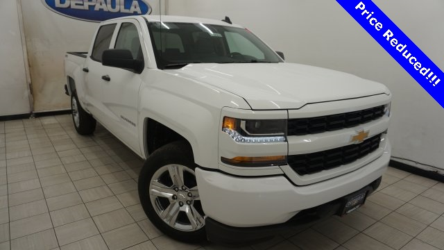 2018 Silverado 1500 Crew Cab 4x4,  Pickup #T18069 - photo 1
