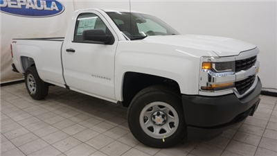 2018 Silverado 1500 Regular Cab 4x4,  Pickup #T18244 - photo 1