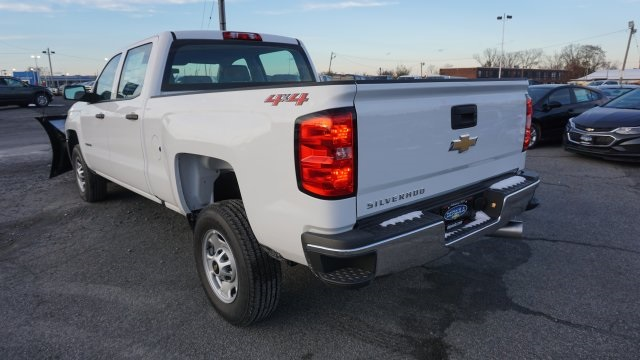 2019 Silverado 2500 Crew Cab 4x4,  Fisher Pickup #T18820 - photo 2
