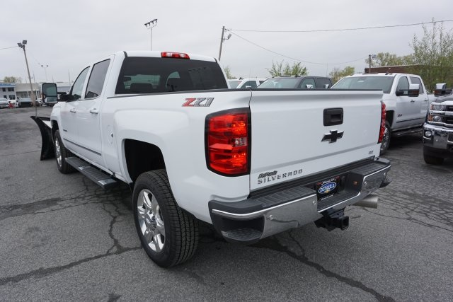 2019 Silverado 2500 Crew Cab 4x4,  Fisher Snowplow Pickup #T18965 - photo 2
