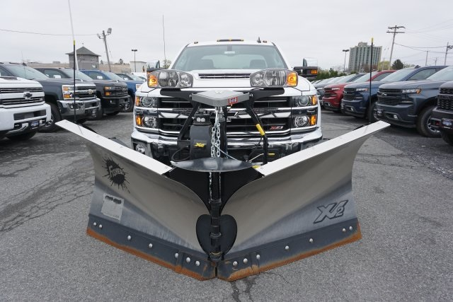 2019 Silverado 2500 Crew Cab 4x4,  Fisher Snowplow Pickup #T18965 - photo 12