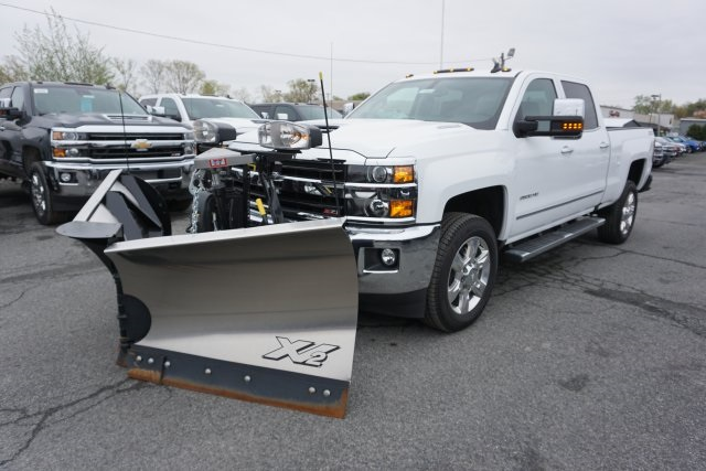 2019 Silverado 2500 Crew Cab 4x4,  Fisher Snowplow Pickup #T18965 - photo 1