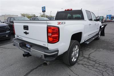 2019 Silverado 2500 Crew Cab 4x4,  Fisher Snowplow Pickup #T18965 - photo 11