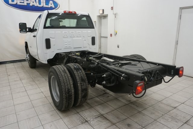 2019 Silverado 3500 Regular Cab DRW 4x4,  Cab Chassis #T19782 - photo 11