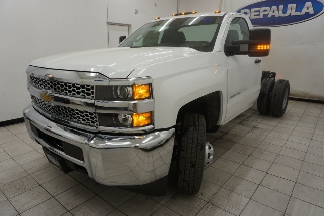 2019 Silverado 3500 Regular Cab DRW 4x4,  Cab Chassis #T19782 - photo 7
