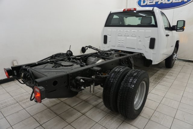 2019 Silverado 3500 Regular Cab DRW 4x4,  Cab Chassis #T19795 - photo 11