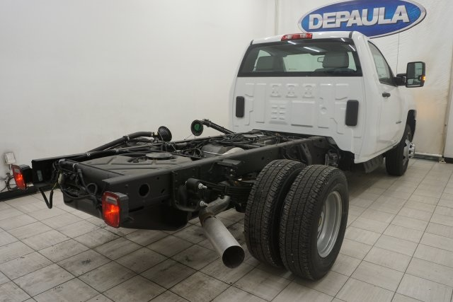 2019 Silverado 3500 Regular Cab DRW 4x4,  Cab Chassis #T19797 - photo 2
