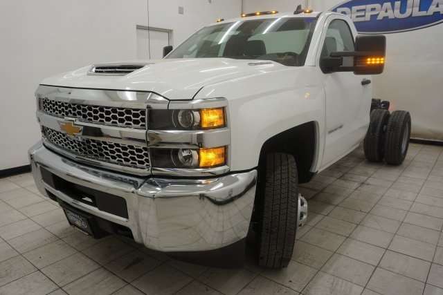 2019 Silverado 3500 Regular Cab DRW 4x4,  Cab Chassis #T19797 - photo 7