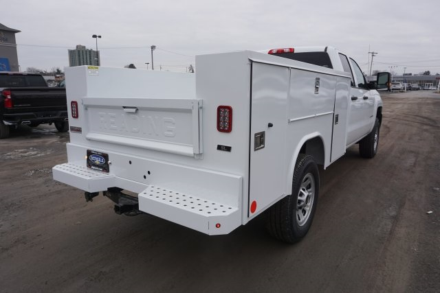 2019 Silverado 2500 Double Cab 4x4, Reading Classic II Steel Service Body #T22529 - photo 2