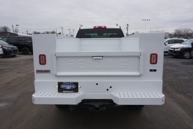 2019 Silverado 2500 Double Cab 4x4, Reading Classic II Steel Service Body #T22529 - photo 13