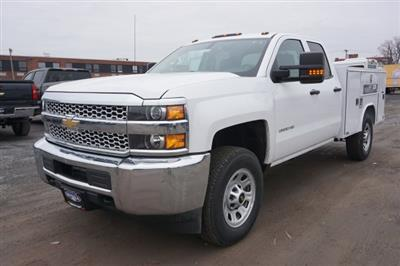 2019 Silverado 2500 Double Cab 4x4, Reading Classic II Steel Service Body #T22529 - photo 7