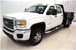 2015 Sierra 3500 Crew Cab 4x4, Contractor Body #54115 - photo 1