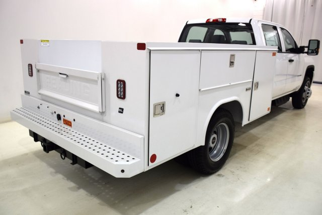 2017 Sierra 3500 Crew Cab 4x4, Service Body #73603 - photo 2