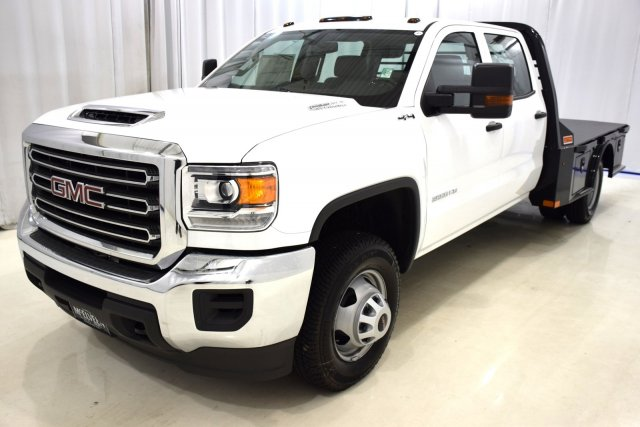 2017 Sierra 3500 Crew Cab 4x4, Platform Body #73604 - photo 5