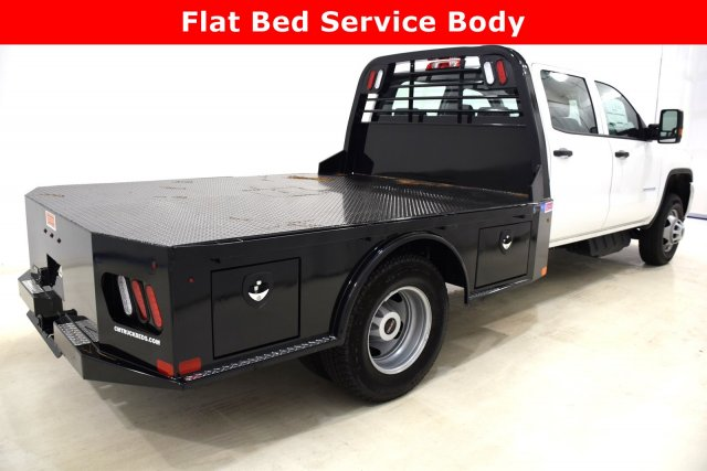 2017 Sierra 3500 Crew Cab DRW 4x4 Platform Body #73605 - photo 6