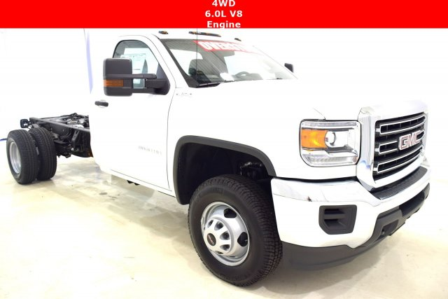 2017 Sierra 3500 Regular Cab DRW 4x4 Cab Chassis #73634 - photo 1