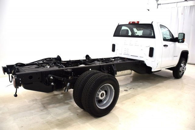 2017 Sierra 3500 Regular Cab DRW 4x4 Cab Chassis #73634 - photo 2