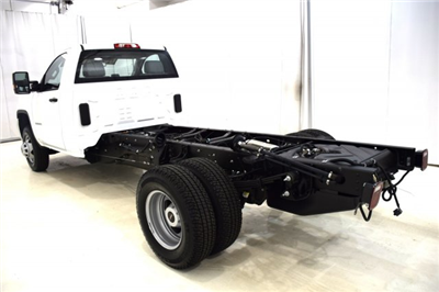 2017 Sierra 3500 Regular Cab DRW 4x4 Cab Chassis #73634 - photo 8