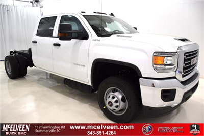 2018 Sierra 3500 Crew Cab DRW 4x4,  Cab Chassis #83734 - photo 1