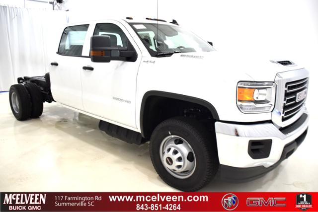 2018 Sierra 3500 Crew Cab DRW 4x4,  Cab Chassis #83849 - photo 1