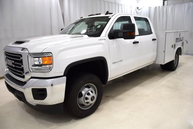 2018 Sierra 3500 Crew Cab DRW 4x4,  Reading Service Body #84178 - photo 5