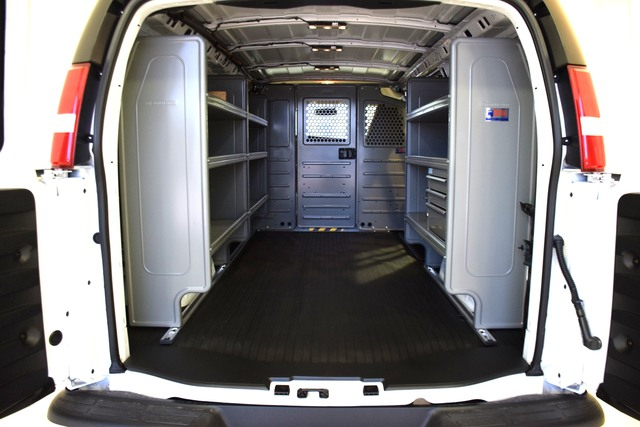2019 Savana 2500 4x2,  Adrian Steel Upfitted Cargo Van #93690 - photo 1