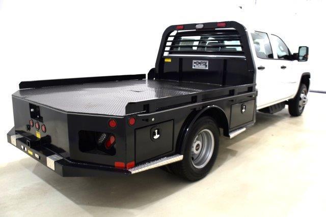 2019 Sierra 3500 Crew Cab DRW 4x2,  Freedom Platform Body #93705 - photo 1