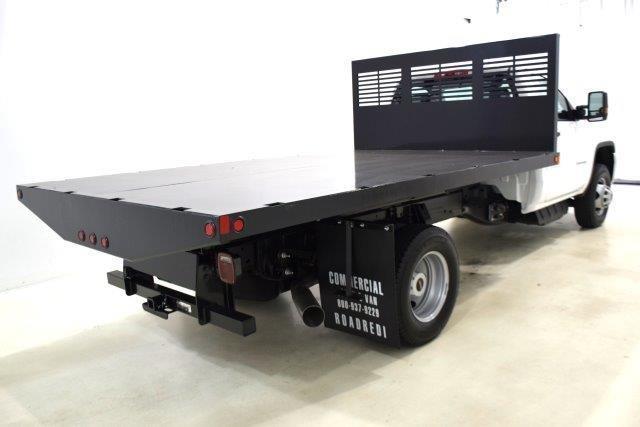 2019 Sierra 3500 Regular Cab DRW 4x4,  Commercial Truck & Van Equipment Platform Body #93712 - photo 1