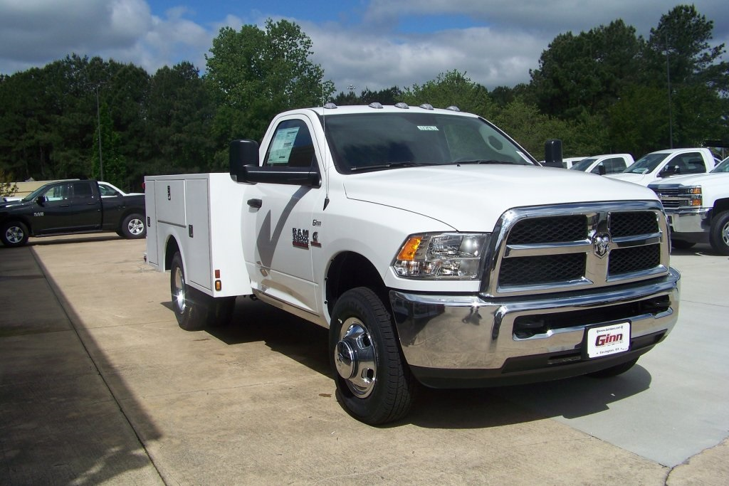 2018 Ram 3500 Regular Cab DRW 4x2,  Warner Service Body #DZ8128 - photo 5